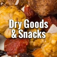 Dry goods and snacks