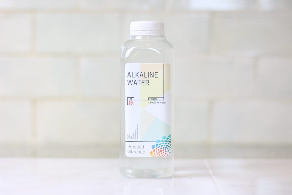 alkaline water products