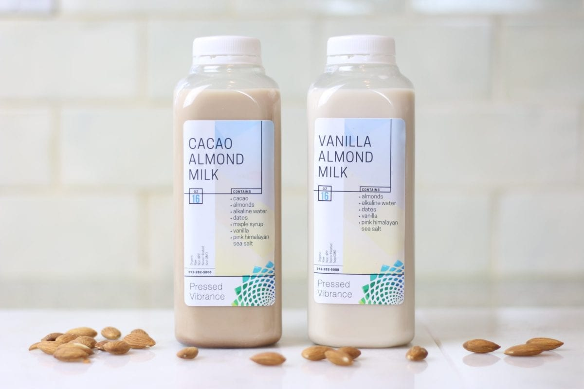 almond milks