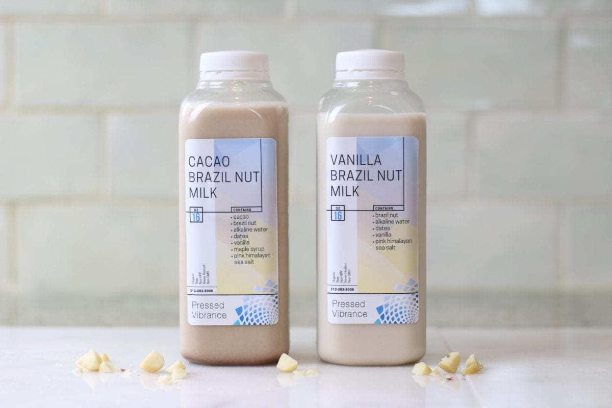 brazil nut milks