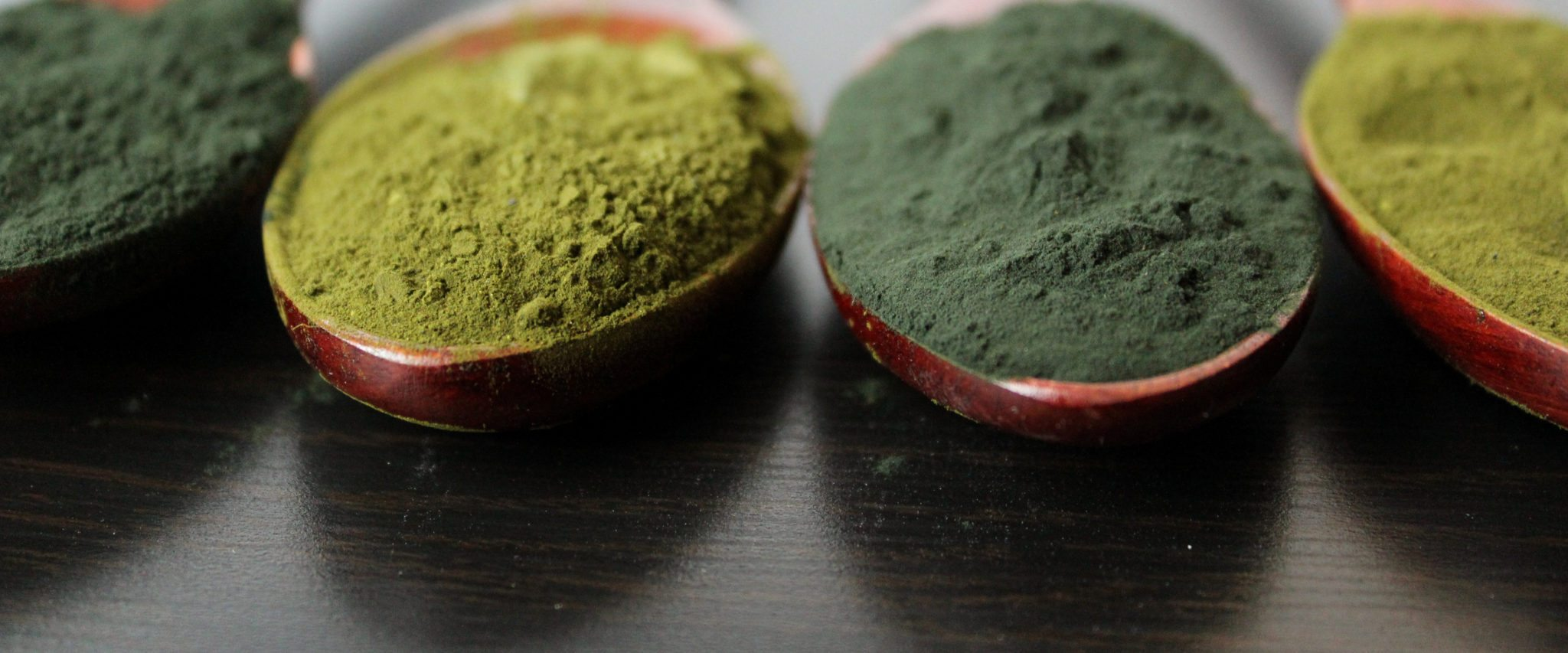 Spirulina and Chorella powder